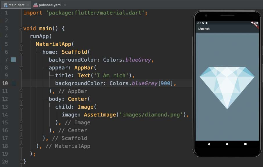 Working with Assets in Flutter & the Pubspec file