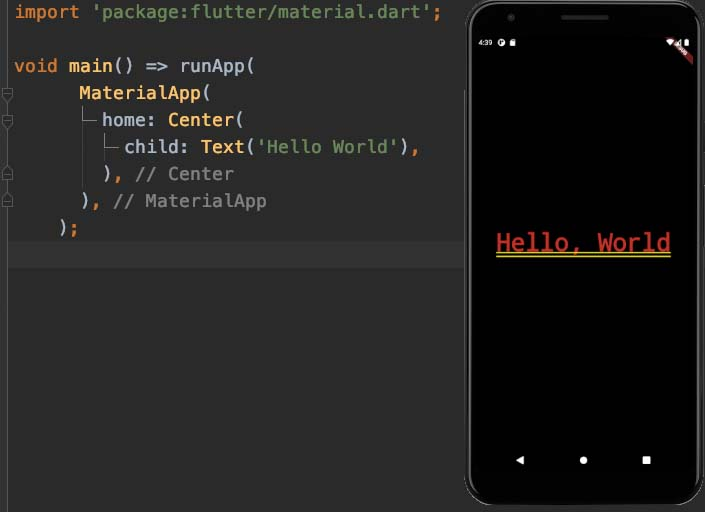 Creating a New Flutter Project from Scratch